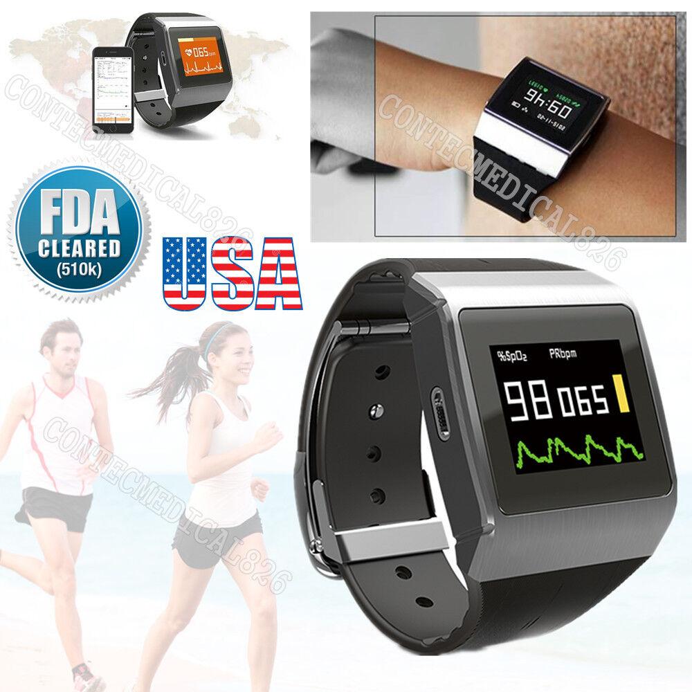 Fitness Guarda Sport ECG SPO2 PR Monitor HR sonno Record Pedometro Calorie BT
