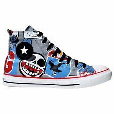 CONVERSE SCHUHE ALL STAR CHUCKS UK 5 EU 37,5 GORILLAZ LIMITED EDITION BUNT LEAD