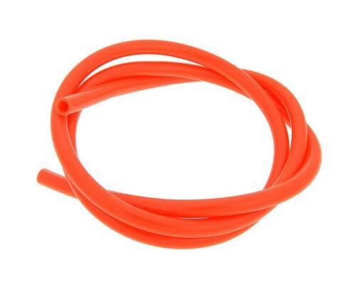 Vespa Primavera 50 2T 1m x 5mm Orange Fuel Pipe Line