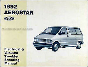 1992 ford aerostar van electrical and vacuum troubleshooting manualimage is loading 1992 ford aerostar van electrical and vacuum troubleshooting