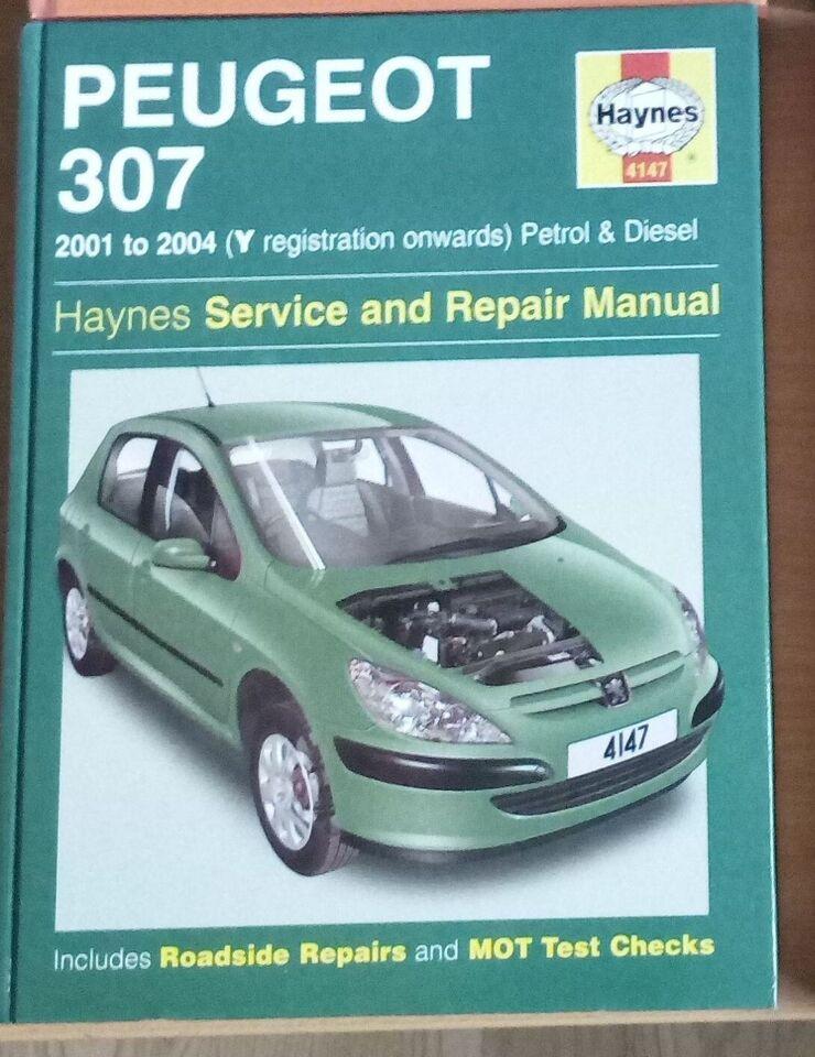 Værkstedshåndbog Opel Vectra Peugeot, Haynes