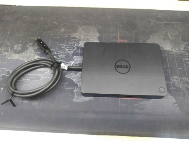 Dell K17A 05FDDV USB-C Docking Station with  130W AC Power Adapter