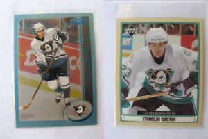 2002-03 O-Pee-Chee #340 Chistov Stanislav 442/500 rc blue  ducks