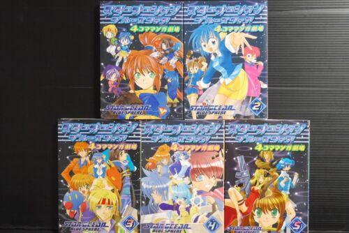 "JAPAN manga LOT Star Ocean Blue Sphere /""4koma Manga Gekijou/"" vol.1~5 set"