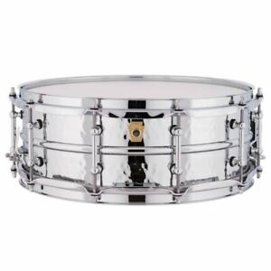 Ludwig-LM400KT-Supraphonic-Hammered-Aluminum-Snare-Drum-5-034-x-14-034