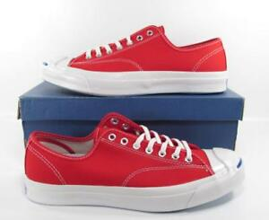 9bac155f2726c Details about Converse Jack Purcell JP Signature Series Ox Sneaker CRIMSON  RED 147561C