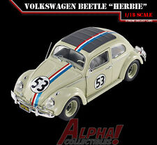 "HOTWHEEL BLY59 1:18 VOLKSWAGEN BEETLE ""THE LOVE BUG"" HERBIE #53"