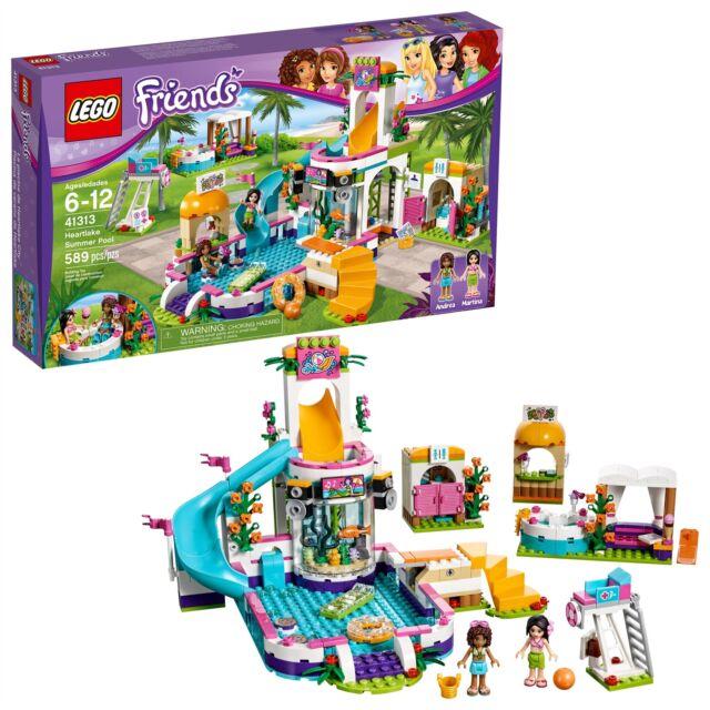 LEGO® Friends - Heartlake Summer Pool 41313 589 Pcs