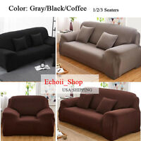 1/2 /3 Seater Sofa Couch Slip Over Easy Fit Stretch Cover Elastic Protector Usa