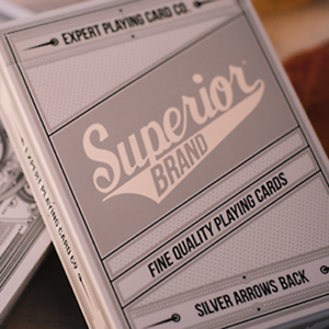 Superior Silver Arrow Playing Cards By Expert Playing Card Co Ebay