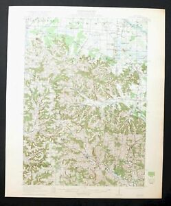 Kendall Wisconsin Vintage 1921 Usgs Topo Map Tomah 15 Minute
