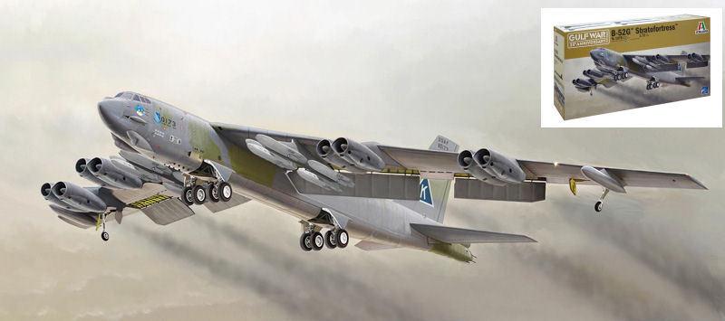 B-52G Stratofortress Plastic Kit 1 72 Model 1378 ITALERI