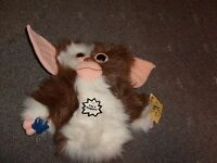 Vintage Gremlins 2 Gizmo 10 Plush Puppet Applause 1990 Clean W/ Tags