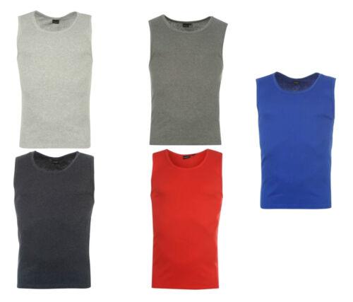 Men/'s Propeller Muscle Vest//T-shirt Work out vest Red Beach Blue.