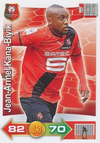 JEAN-ARMEL KANA-BIYIK # STADE RENNAIS CARD PANINI ADRENALYN 2012