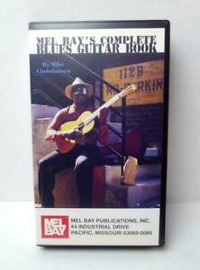 Mel-Bay-039-s-Complete-Blues-Guitar-Book-by-Mike-Christiansen-on-VHS-Tape
