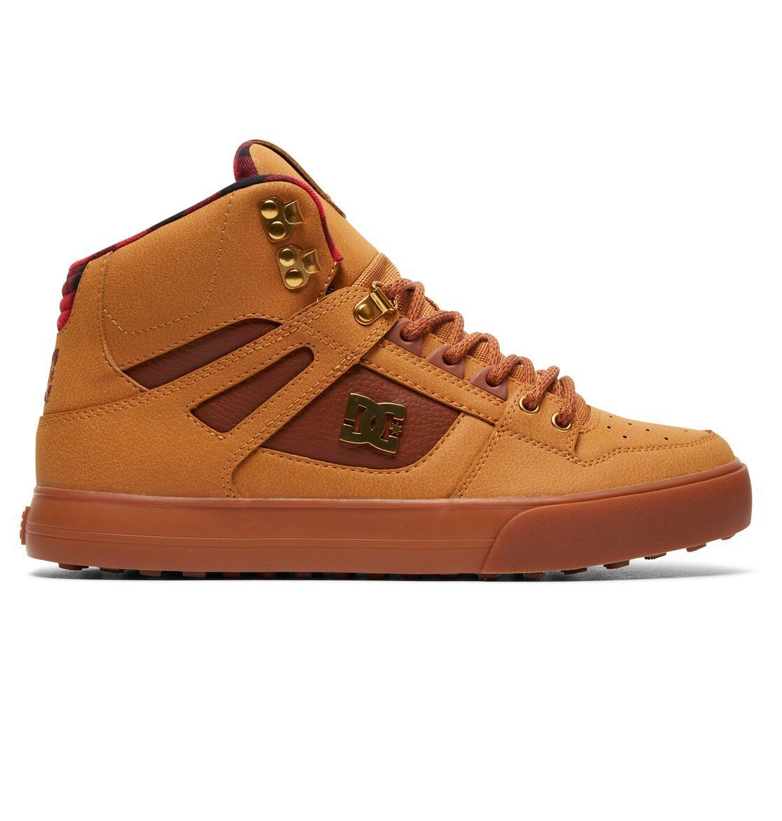 DC ZAPATOS zapatos spartan high wnt trigo negro chocolate