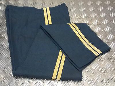 Herzhaft Genuine British Raf Royal Air Force Number 9 No 9 (a) Dress Trousers Ceremonial Hohe Belastbarkeit