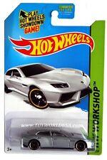 2014 Hot Wheels #197 HW Workshop HW All Stars Lamborghini Estoque silver