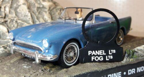 Sunbeam Alpine Tiger Daimler Dart Panel rociada /& Tab conmutador de luces antiniebla OEM tipo