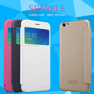the best attitude 7b565 fdd77 Details about OPPO R9S Plus Case Original Nillkin Sparkle Leather Case  Cover For OPPO R9s Plus