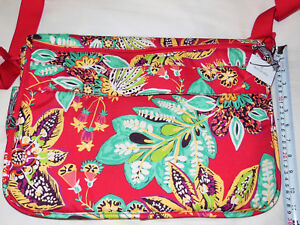 Image is loading NWT-Vera-Bradley-Lighten-Up-LAPTOP-MESSENGER-Crossbody- 2e7b7cdbd8b40