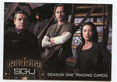 Stargate Universe Season 1 Promo Card P1