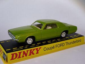 Coupe-FORD-Thunderbird-ref-1419-au-1-43-de-dinky-toys-atlas