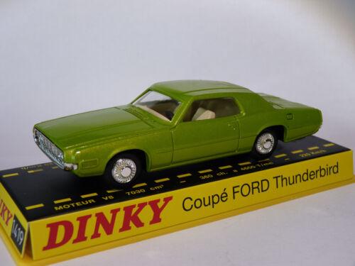 Coupé FORD Thunderbird ref 1419 au 1//43 de dinky toys atlas