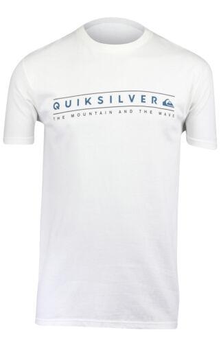 White Quiksilver Mens Clean Ways T-Shirt