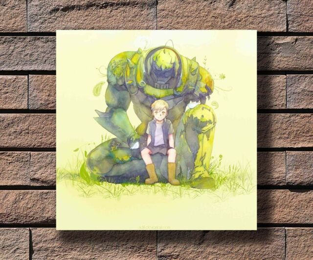 "Fullmetal Alchemist poster wall art home decor photo print 24x24/"" inches"