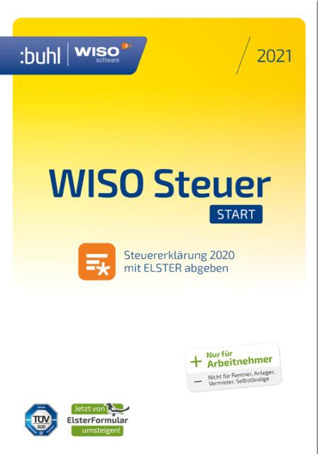 WISO Steuer Start 2021 DVD-Box für 1 Gerät günstig kaufen ...