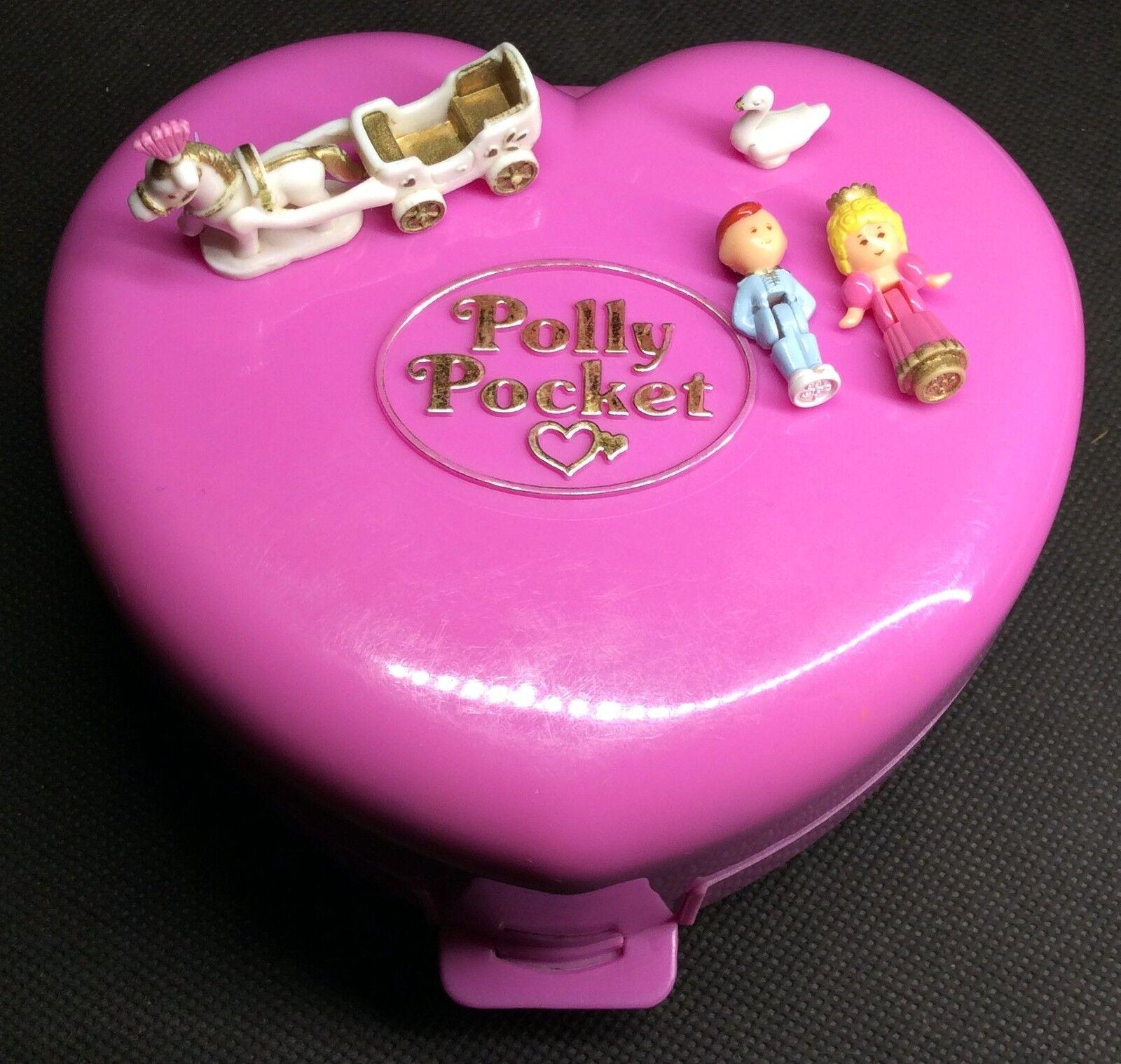 Polly Pocket Mini  1992-Polly Pocket STARLIGHT Castle Playset LIGHT 100% 21