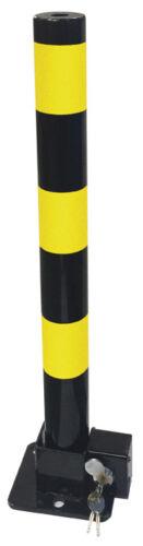 2 Streetwize Folding Robust Security Parking Post Driveway Bollard Lock /& Key