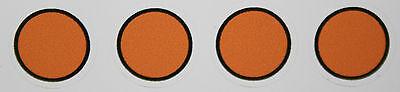 (h 9/44) Märklin 4 Pezzi Riparazione Adesivo Per Segnale Di Preavviso 7036 7037 Fornitura Sufficiente