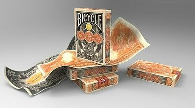 Bicycle Gold Certificate Playing Cards Deck Rare New Single Deck Federal 52