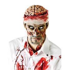 Zombie Brain Hat Head Topper Halloween Horror Fancy Dress Bloody Bandages Blood
