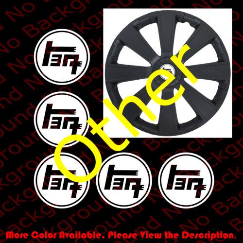 5 pc x TOYOTA Vintage Japanese JDM TEQ  Die Cut Vinyl Decal Car//Wheel Cap TY001