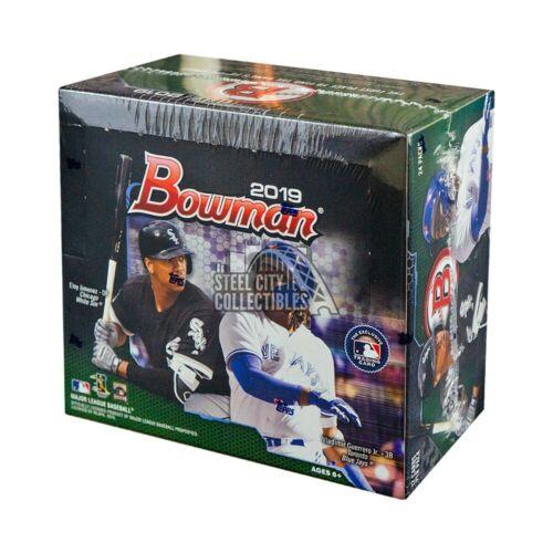 2019 caja por menor Bowman béisbol 24ct