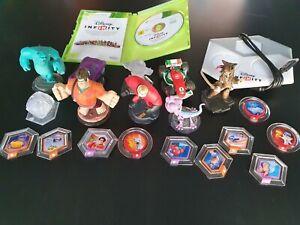 Lot Disney Infinity 1.0 sur Xbox 360 avec 19 pièces