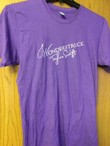 "Taylor Swift ""Wonderstruck"".  Purple Shirt.  M."