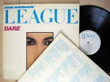 The Human League Dare + Inner A4 B1 ♫LISTEN♫ UK LP Virgin V2192 1981 EX