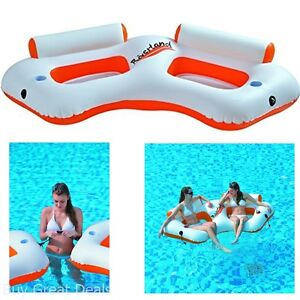 Image Is Loading Pool Floats Inflatable Loungers Water Chairs Adult Sofa