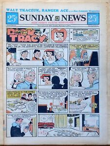 New-York-Sunday-News-6-page-color-comic-section-Brenda-Starr-Feb-7-1971
