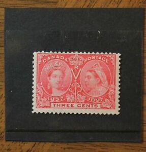 53-CANADA-Queen-Victoria-Diamond-Jubilee-1897-mint-hinged
