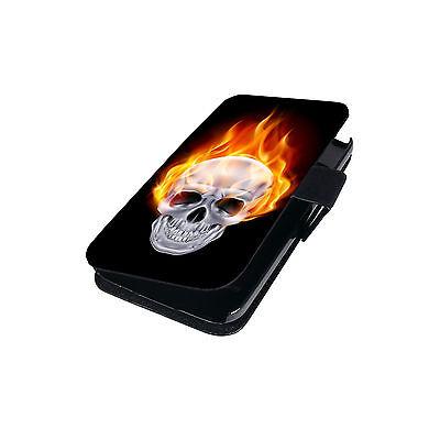 Schutz Hülle für Huawei P8 Lite 2017 Flip Tasche Cover Case Etui Schale Motiv