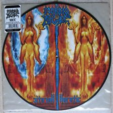 MORBID ANGEL - HERETIC  Picture Disc LP  Earache – MOSH 272  Limited to 1500 pcs