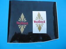 1  AUTOCOLLANT LOSANGE  FOND TRANSPARENT  SOLEX    VELOSOLEX