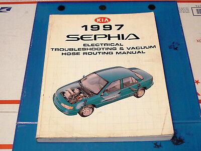 1997 Kia Sephia Electrical Troubleshooting Manual/Wiring ...