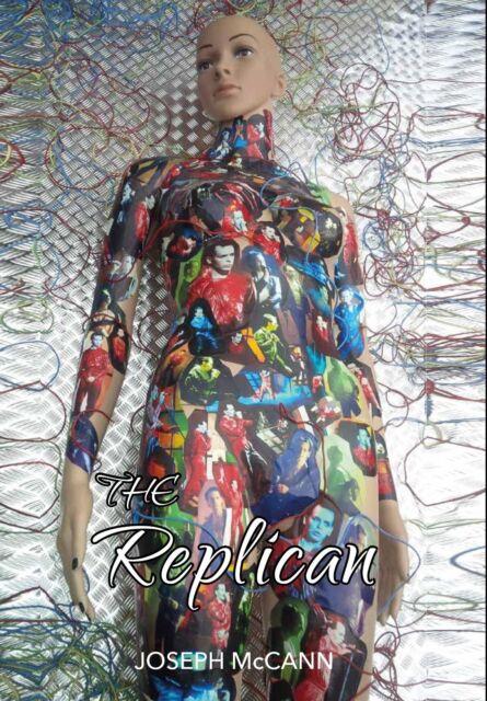 The Replican novel, a new dark Sci Fi Horror Gary Numan Inspired book PRE-ORDER
